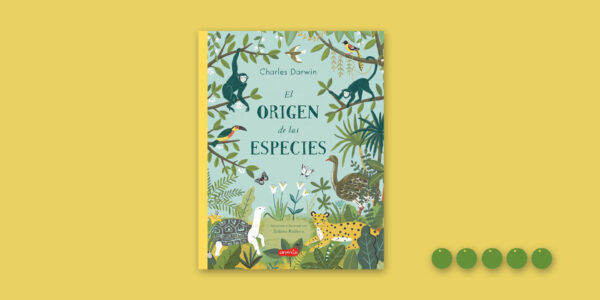 El origen de las especies con guisantes