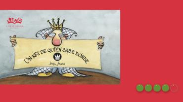 Un rey de quién sabe dónde apaisado_Mejor en verde Elisa Yuste
